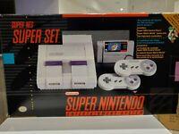 Super Nintendo Super Set CIB w/ Super Mario World