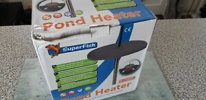 super fish pond heater only used once. good condition.