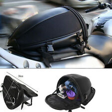 Motorcycle Bike Sports Waterproof Back Seat Carry Bag Luggage Tail Saddlebag Hot