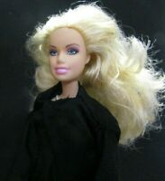 Barbie Original doll blonde hair green dress black vest & yellow dress