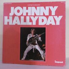 3 x 33T Vinyles Johnny HALLYDAY Coffret LP 36 Titres Collection IMPACT 6993 12