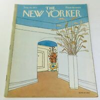 The New Yorker: August 19 1974 Full Magazine/Theme Cover Gretchen Dow Simpson