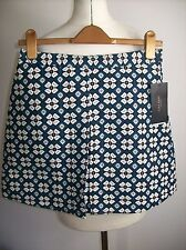 ZARA FLORAL PRINT MINI SKIRT SIZE M UK 10