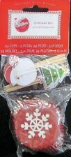 Snowflake and Holiday Christmas Baking Cup Combo Pack from Wilton #1062