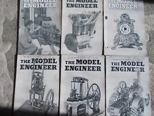 THE MODEL ENGINEER MAGAZINE X 6.  VOL.106 2659- 2661, APRIL 17- MAY 22.