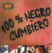 Damas Gratis 100 % Negro Cumbiero CD No Plastic Seal
