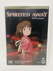 Spirited Away - Studio Ghibli - Hayao Miyazaki - (2 Discs) - Region 4 DVD
