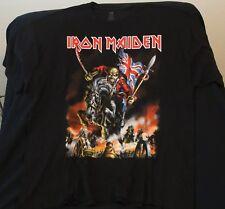 Iron Maiden Maiden England ConcertNorth American Tour Shirt 2012 3XL NEW WOW