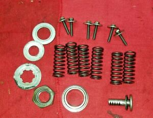 RMX250 SUZUKI 1994 RMX 250 94 CLUTCH SPRINGS, BOLTS, MISC PARTS..