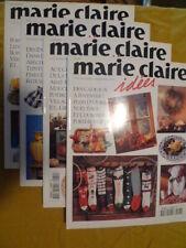 Lot de 4 revues Marie Claire Idées 1996 n° 20/21/22/23
