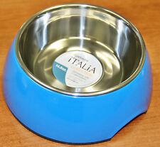 Petmate Pet Bowl Dish 14.5 oz Italia Bowl, Medium, Blue Non Skid