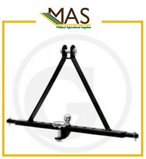 Heavy Duty 3 Point Linkage Tow Hitch - Suitable for Tractors up to 85hp