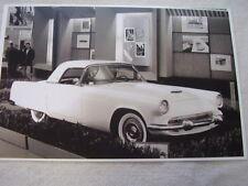 1955 ? FORD THUNDERBIRD CUSTOM SHOW CAR   11 X 17 PHOTO PICTURE