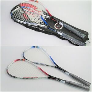 High Quality Modern Sport 5277 Squash racket Pair in a Bag For Beginners