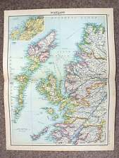 1902  Map of North-west Scotland