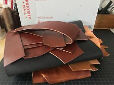 Wickett & Craig English Bridle Tradional Harness Leather Scrap Pieces   ~5lbs