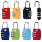 TSA Resettable 3 Digit Combination Lock Travel Luggage Suitcase Lock Padlock New
