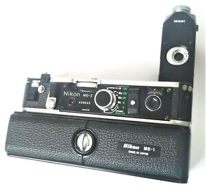 Nikon MD-2 + MB-1 Motor Drive / Battery Pack for Nikon F2 Working