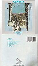 GENESIS trespass CD ALBUM cascd 1020 peter gabriel