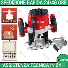 EINHELL Fresatrice verticale pantografo elettrico con 12 frese 1100W TC-RO 1155E