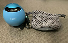 Sony SRS-BTV5 Wireless Bluetooth Speakers Blue Rechargeable VGC