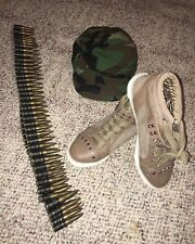 Guess Shoes (8) Hat And Plastic Bullet Sash Costume