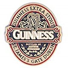 Guinness Classic Collection label metal / enamel lapel pin badge. (sg)