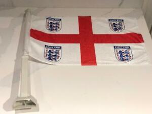 "Team England International Soccer 11.5"" x 15"" Single Sided Car Truck Window Flag"