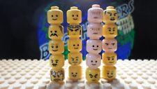 LEGO® TMNT Star Wars City Heads part lot Lot #9