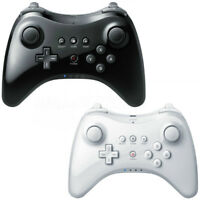 White Black Bluetooth Pro Controller Gamepad Remote Joypad For Nintendo Wii U