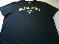 Under Armour Mens Size XL Graphic Basketball T-Shirt Short Sleeve Black Color