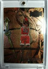 1997-98 Metal Universe Michael Jordan All Millenium #5 of 20, Sharp Insert Bulls