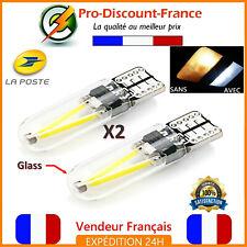 2 Ampoules LED T10 W5W Blanc Xenon Ampoule Veilleuse Voiture 6000K Interieur