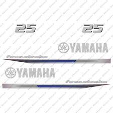 Yamaha 25HP Four Stroke Outboard Engine Decals Sticker Set reproduction 2013 25