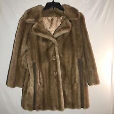 Vintage Faux Fur Mink One Size S M L Tissavel
