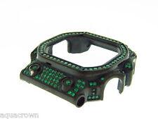 Full case green cz bazel fit for Casio G shock GX-58KG Black case