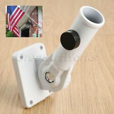 Adjustable Metal Home Wall Mount Stand with Screws Flag Holder Pole Bracket 1Pc