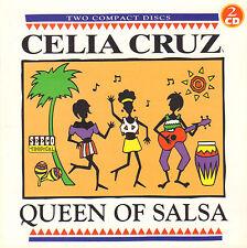 CELIA CRUZ - QUEEN OF SALSA (1997 2-CD COMPILATION)