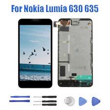 Für Nokia Lumia 630 635 LCD Display Touchscreen Komplett Bildschirm Schwarz RHN2