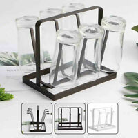 Home Kitchen Bar Mug Tree Dishes Dry Rack Holder Coffee Cup Hanger Storage Stand