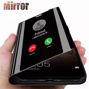 Hülle für iPhone 11 / Pro / Max Flip CASE Cover Etui handy Tasche Spiegel Optik