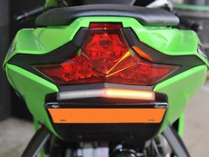 NEW RAGE CYCLES Kawasaki ZX-10R LED Fender Eliminator Kit