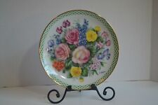 """The Flowers Of England By Doug Hague Danbury Mint 8 1/8"""" Collectors Plate B763"""