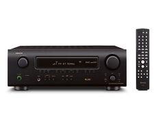 Denon Stereo-Receiver mit Rohkabel-Lautsprecherbuchsen