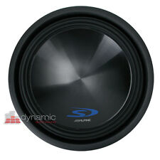 """Alpine SWS-15D2 Car Stereo 15"""" Type-S Series Dual 2-Ohm Subwoofer 1,500W Max NEW"""