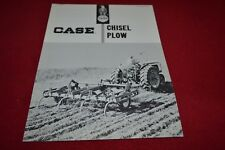 Case Tractor HP Chisel Plow Dealer's Brochure YABE14