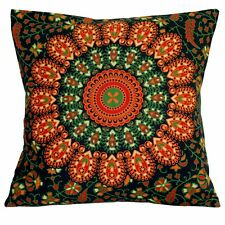 Indian Mandala Bedding Sofa Pillow Case Hippie Bohemian Throw Cushion Cover 16""