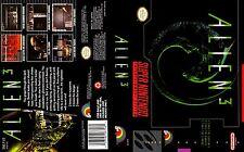Alien 3 Super Nintendo Replacement SNES Box Art Case Insert Cover Scan