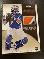 Travis d'arnaud Panini Immaculate Collection Game Used Relic 89/99.  NY Mets.