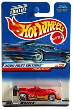 2000 Hot Wheels #71 First Editions Ferrari 333 SP sqr card